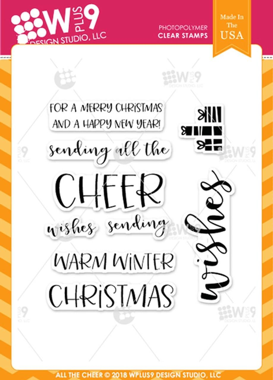 WPlus9 - All the Cheer Stamp Set