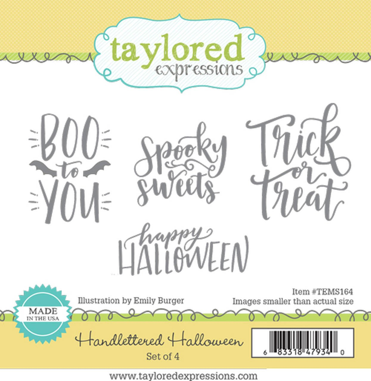 Taylored Expressions - Handlettered Halloween Dies