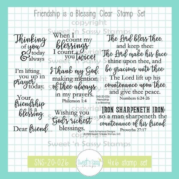 Sweet 'n Sassy - Friendship is a Blessing
