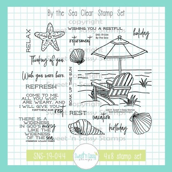 Sweet 'n Sassy - The Sea Stamp Set
