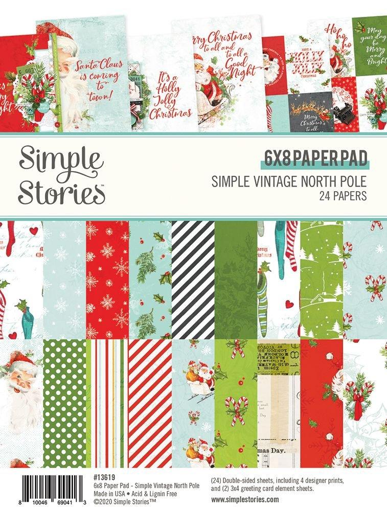 Simple Stories - Simple Vintage North Pole 6x8 Paper Pad