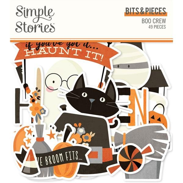 Simple Stories - Boo Crew Bits & Pieces Die-Cuts