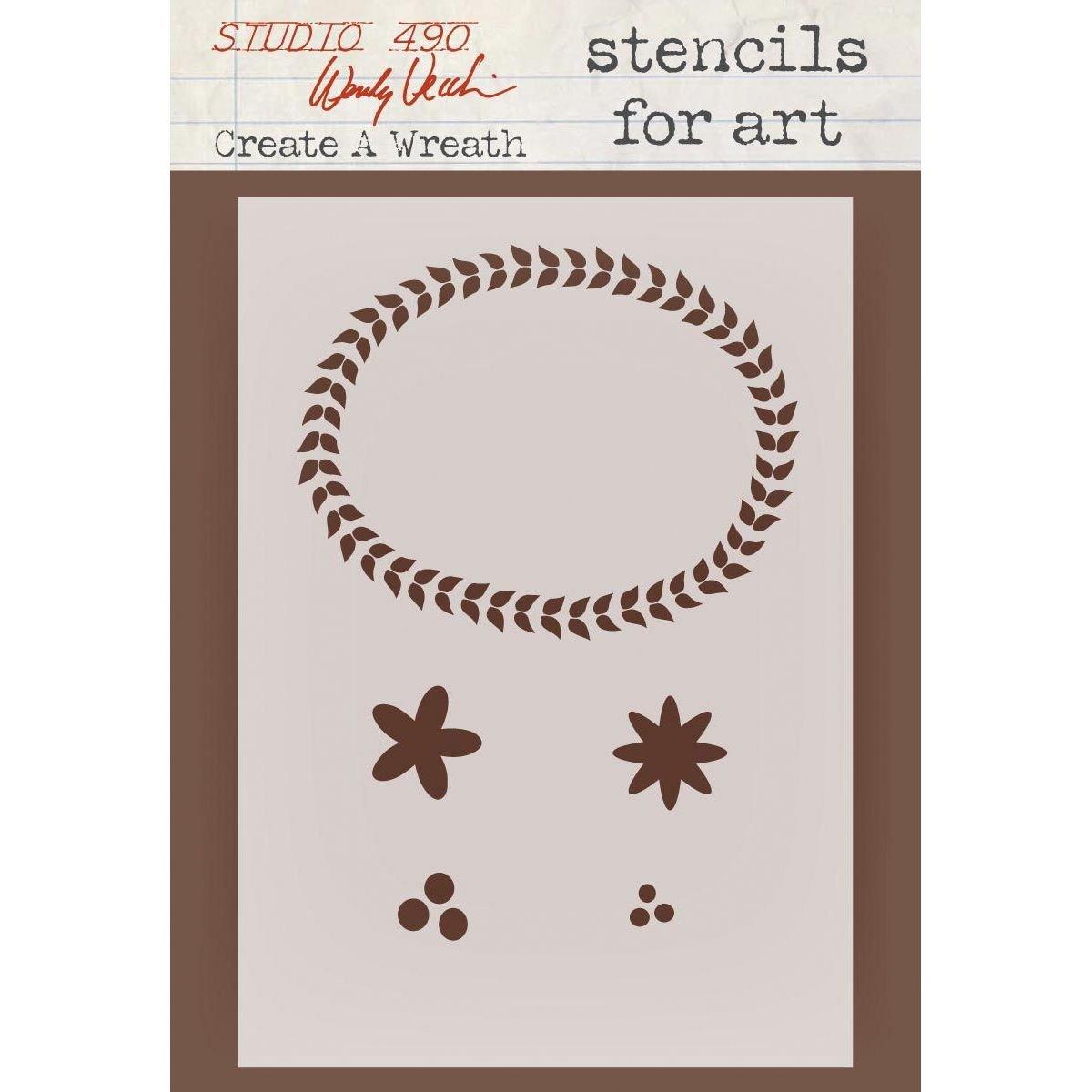Studio 490 - Create a Wreath Stencil