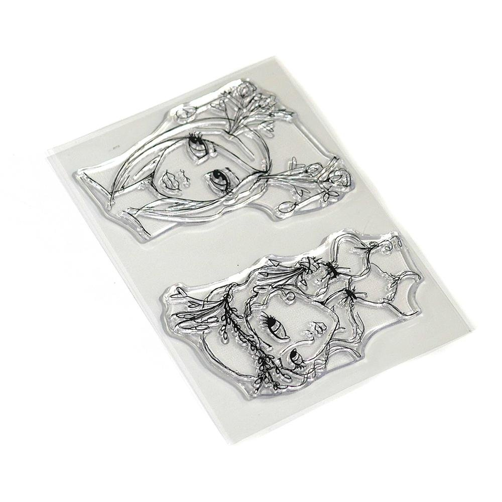 Elizabeth Crafts - Earthy Girls Stamp