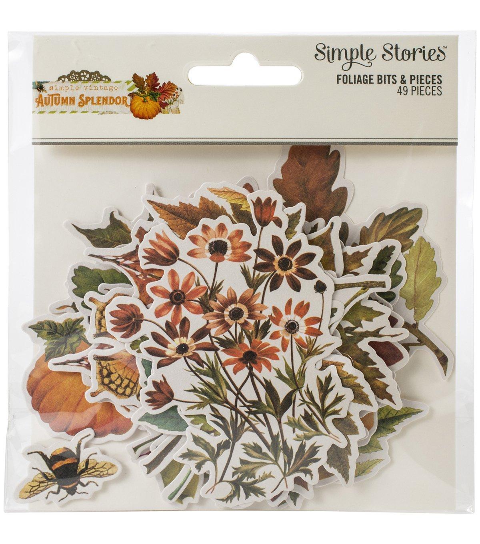 Simple Stories - Autumn Splendor Foliage Die-Cuts
