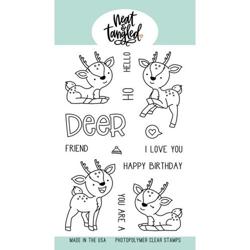 Neat & Tangled - Oh Dear Coordinating Stamp & Die Set