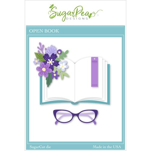 Sugar Pea Designs - Open Book Die Set