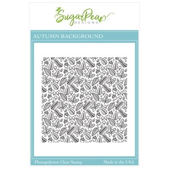 Sugar Pea Designs - Autumn BG Stamp
