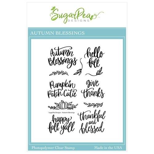 Sugar Pea Designs - Autumn Blessings Stamp Set