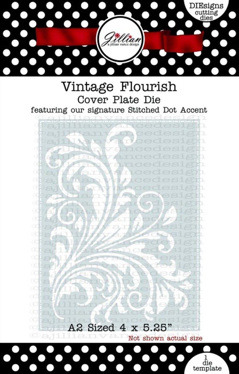 Jillian Vance - Vintage Flourish Die