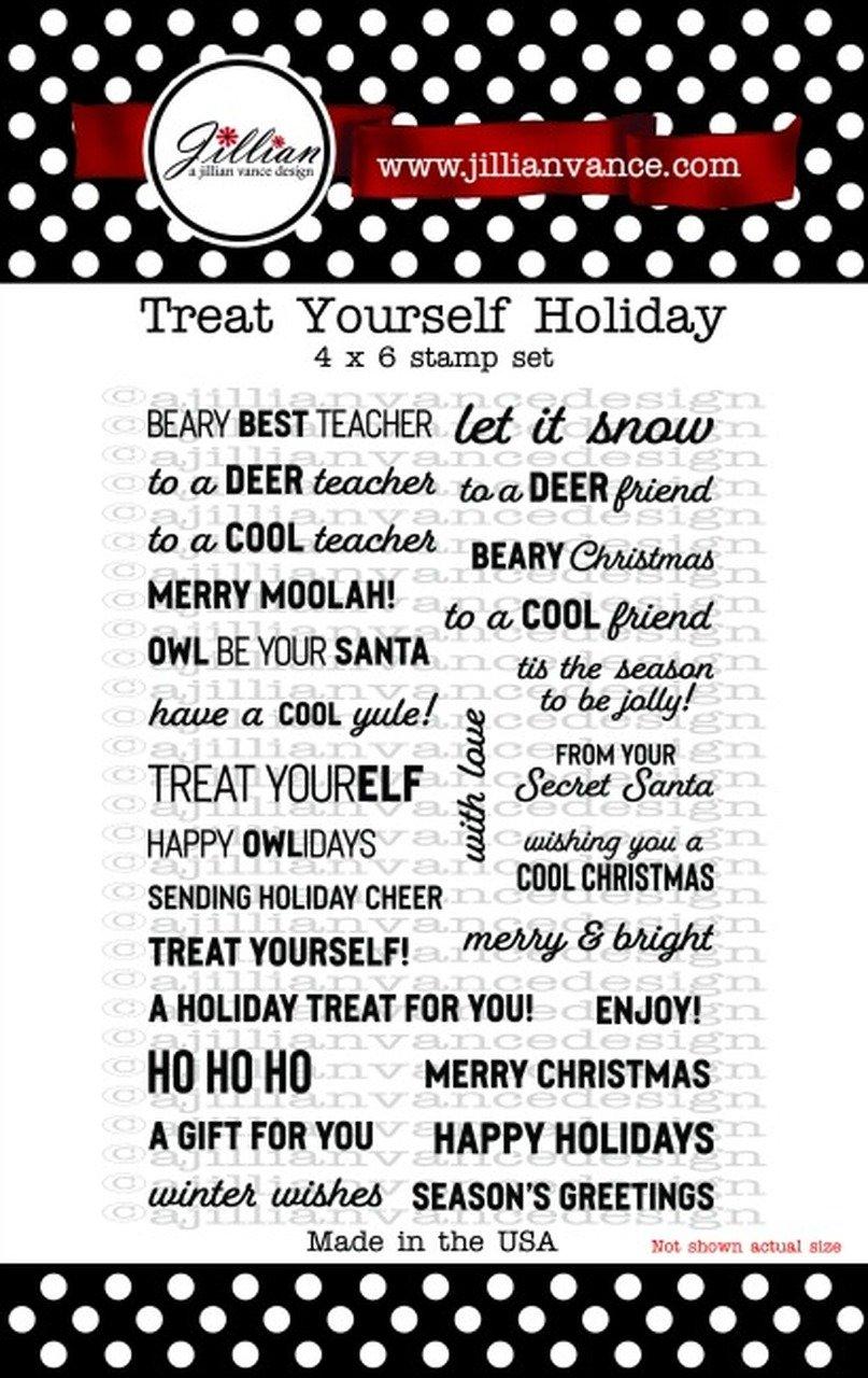 Jillian Vance - Treat Yourself Holiday Stamp Set