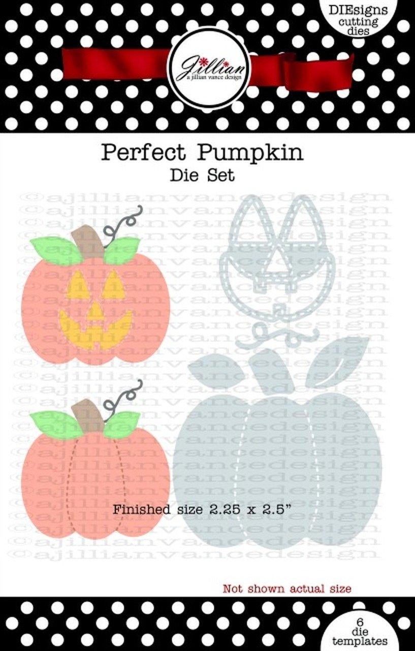 Jillian Vance - Perfect Pumpkin Die Set