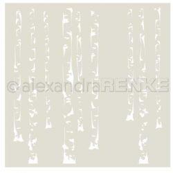 Alexandra Renke - Birch Forest Stencil