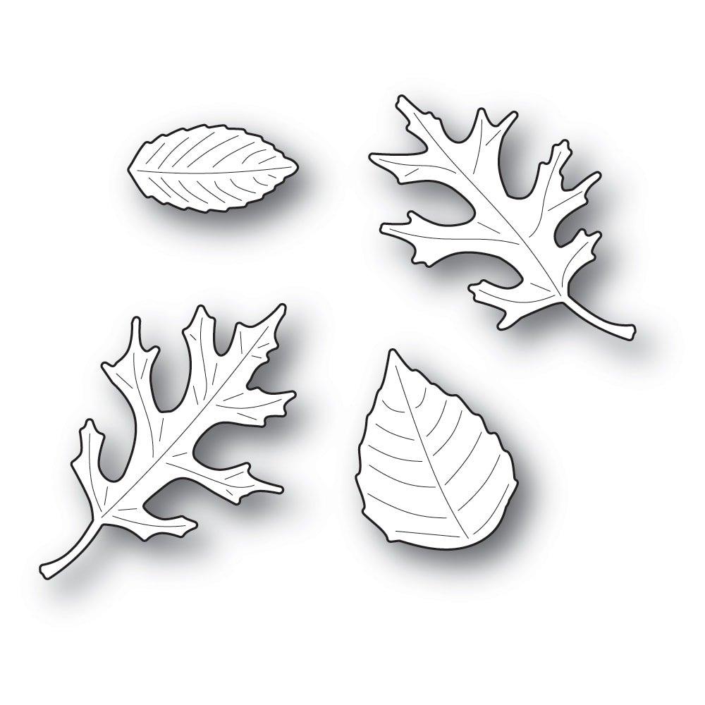 Memory Box - Autumn Leaf Die Set