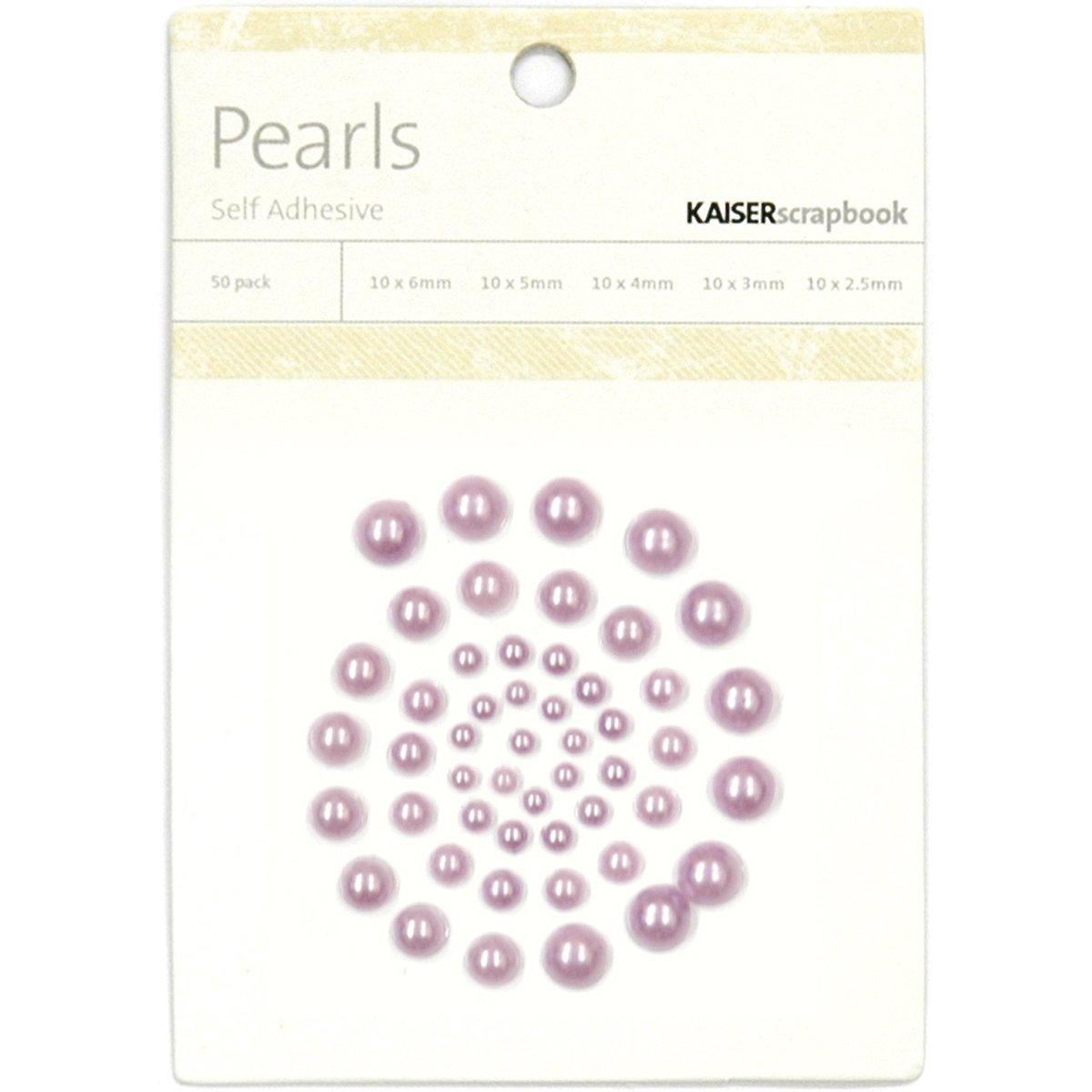 Kaiser Craft - Pearls, Self Adhesive - Lavender