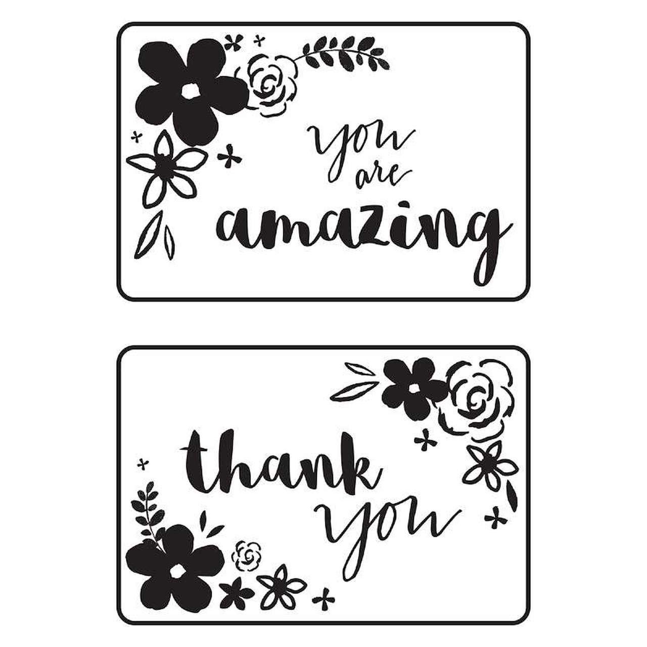 Kaiser Craft - Mini Floral Card Front Embossing Folder Set