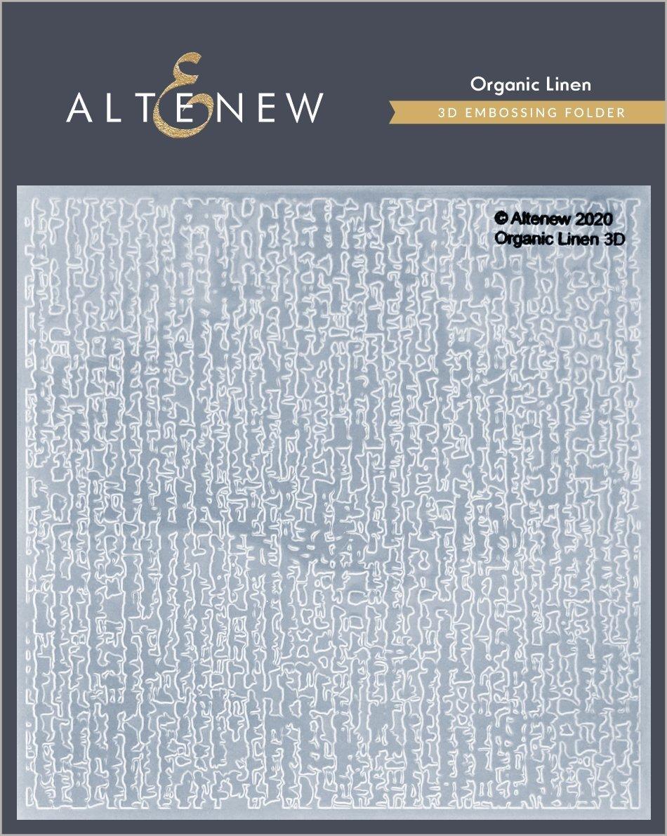 Altenew - Organic Linen Embossing Folder