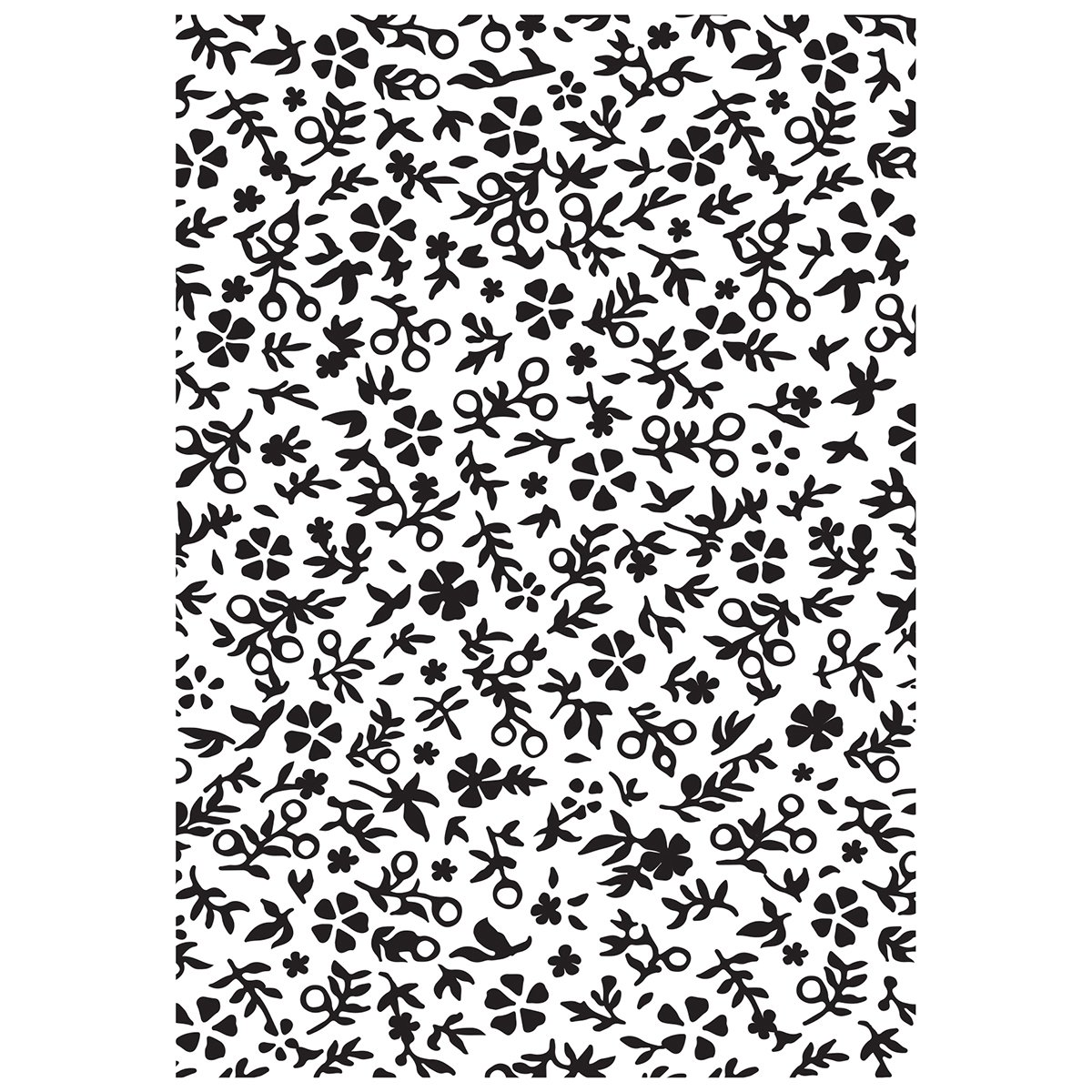 Kaiser Craft - Little Floral Embossing Folder