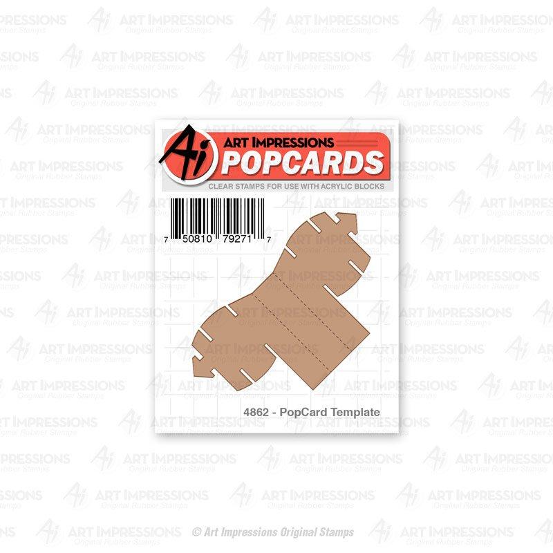 AI - PopCard Template Die