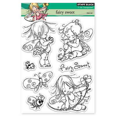 Penny Black - Fairy Sweet Stamp Set