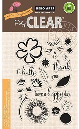 Hero Arts Color - Layering Happy Day Stamp Set