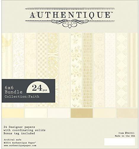 Authentique - Faith Paper Pad 6x6