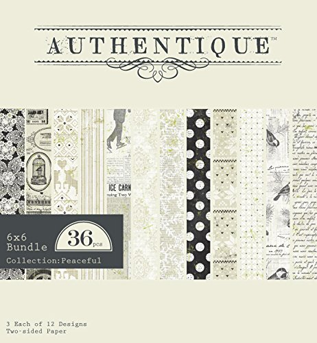 Authentique - Peaceful Paper Pad 6x6