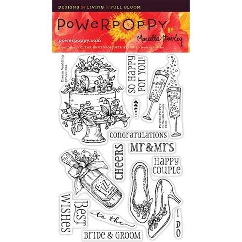 Power Poppy - Dream Wedding Stamp