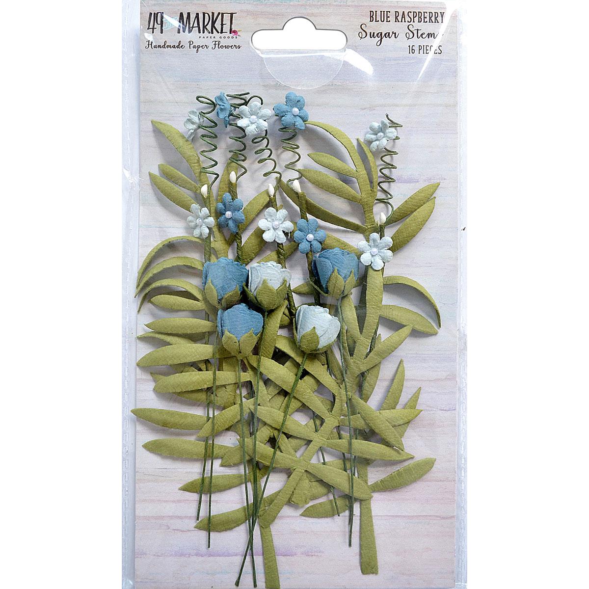 49 and Market - Sugar Stems (Blue Raspberry)
