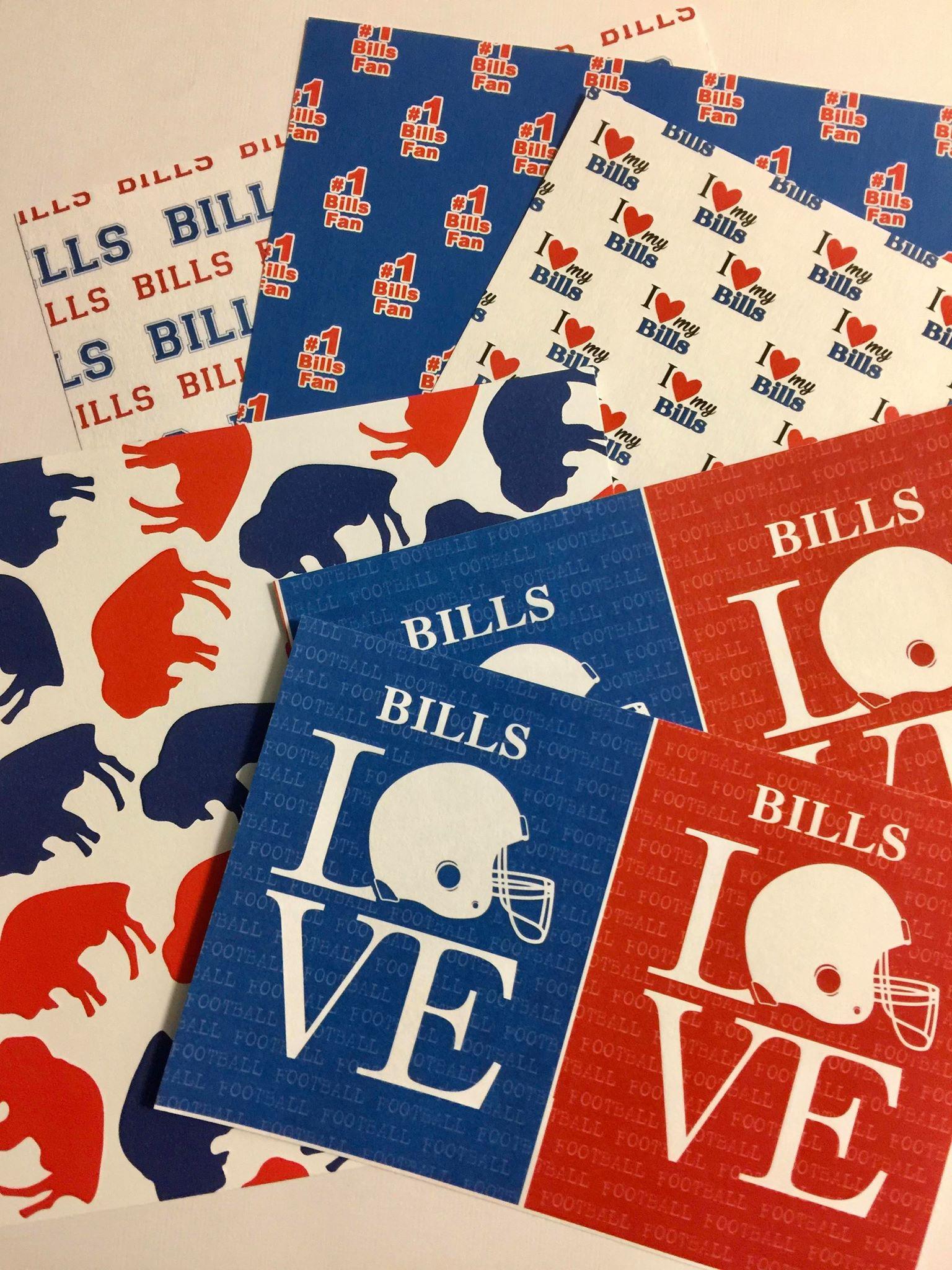 Buffalo Bills Paper Pack 6x6
