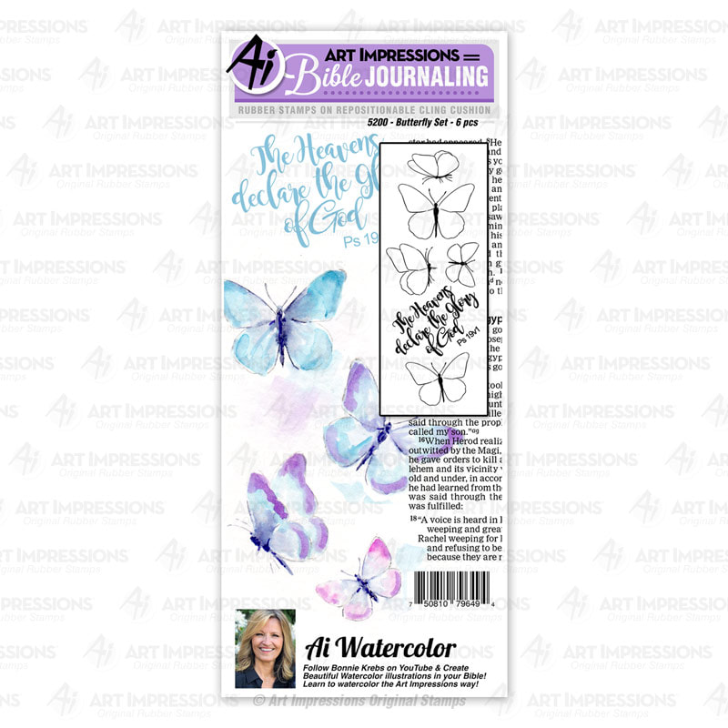 AI - Butterfly Stamp Set