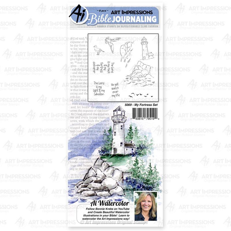 AI - My Fortress Stamp Set
