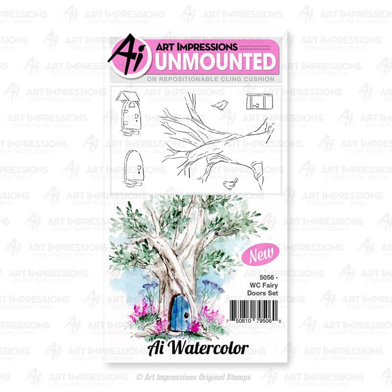 AI - WC Fairy Doors Stamp Set