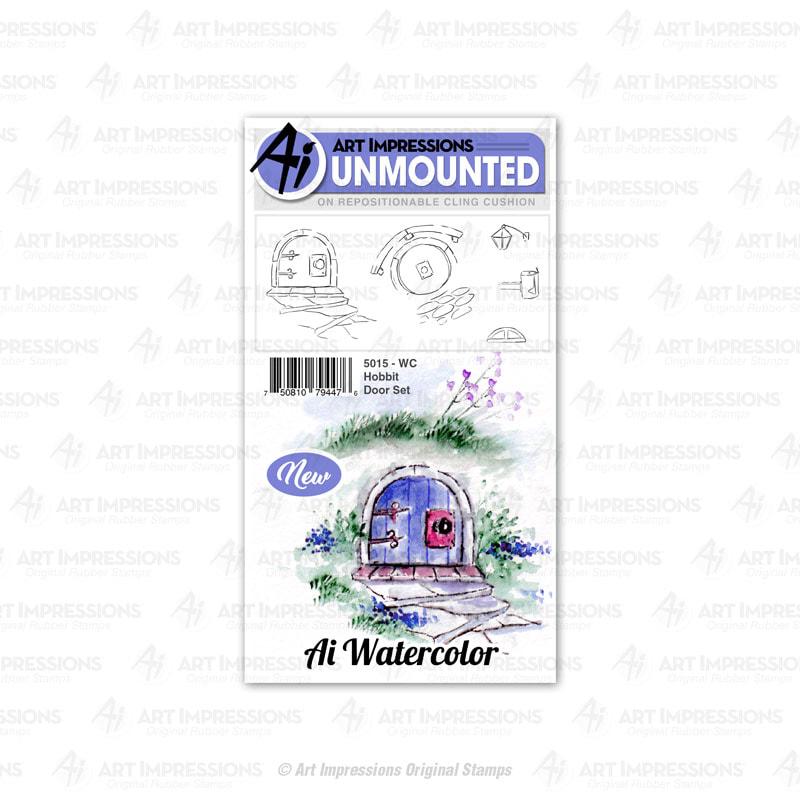 AI - WC Hobbit Door Stamp Set
