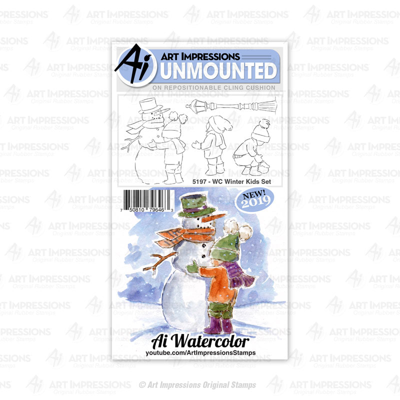 AI - WC Winter Kids Stamp Set