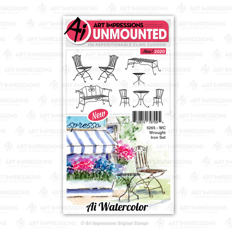 AI - WC Wrought Iron Stamp Set