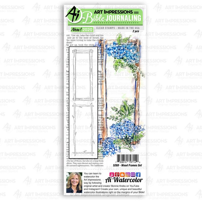 AI - Wood Frames Stamp Set