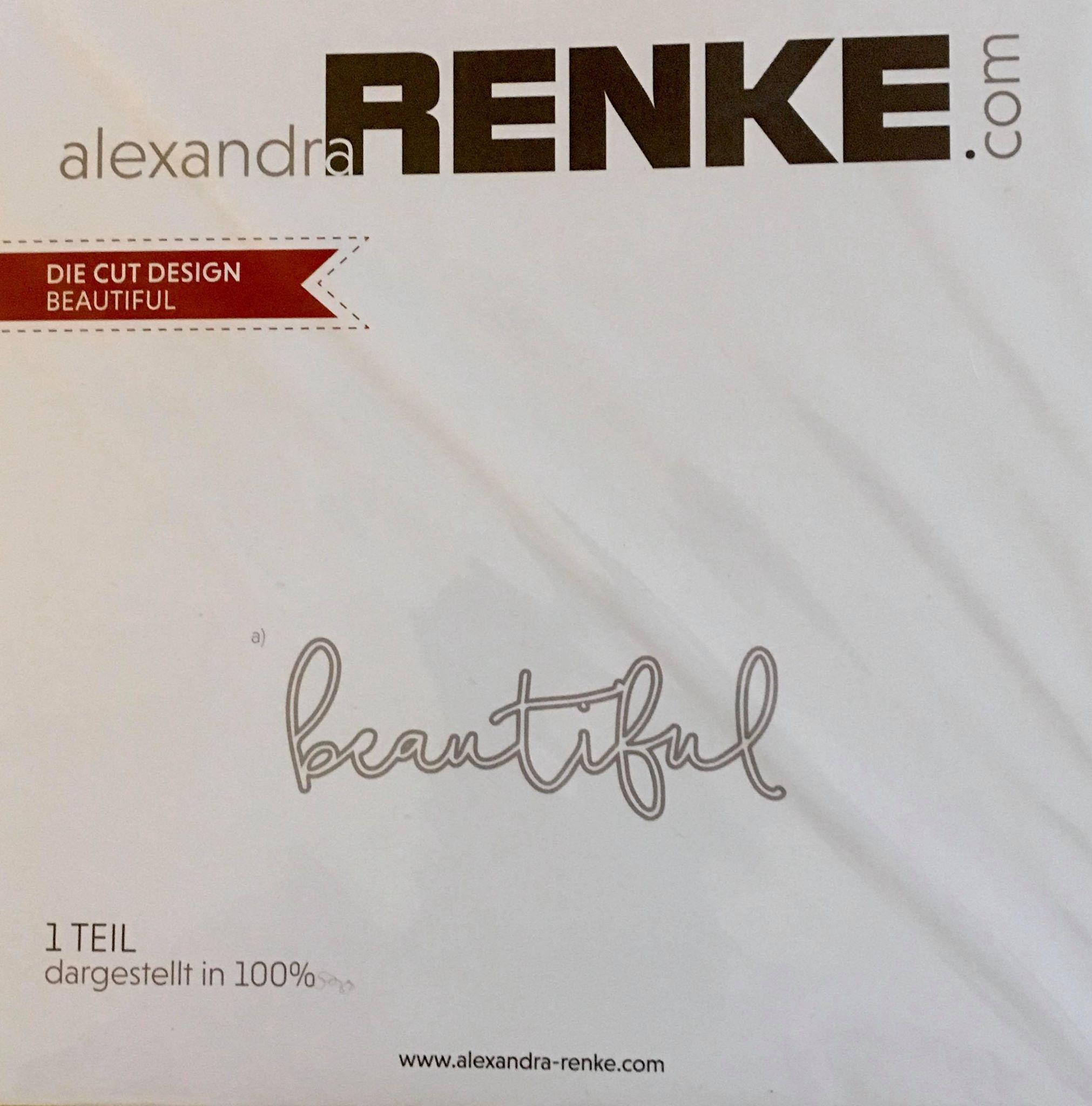 Alexandra Renke - Beautiful Die