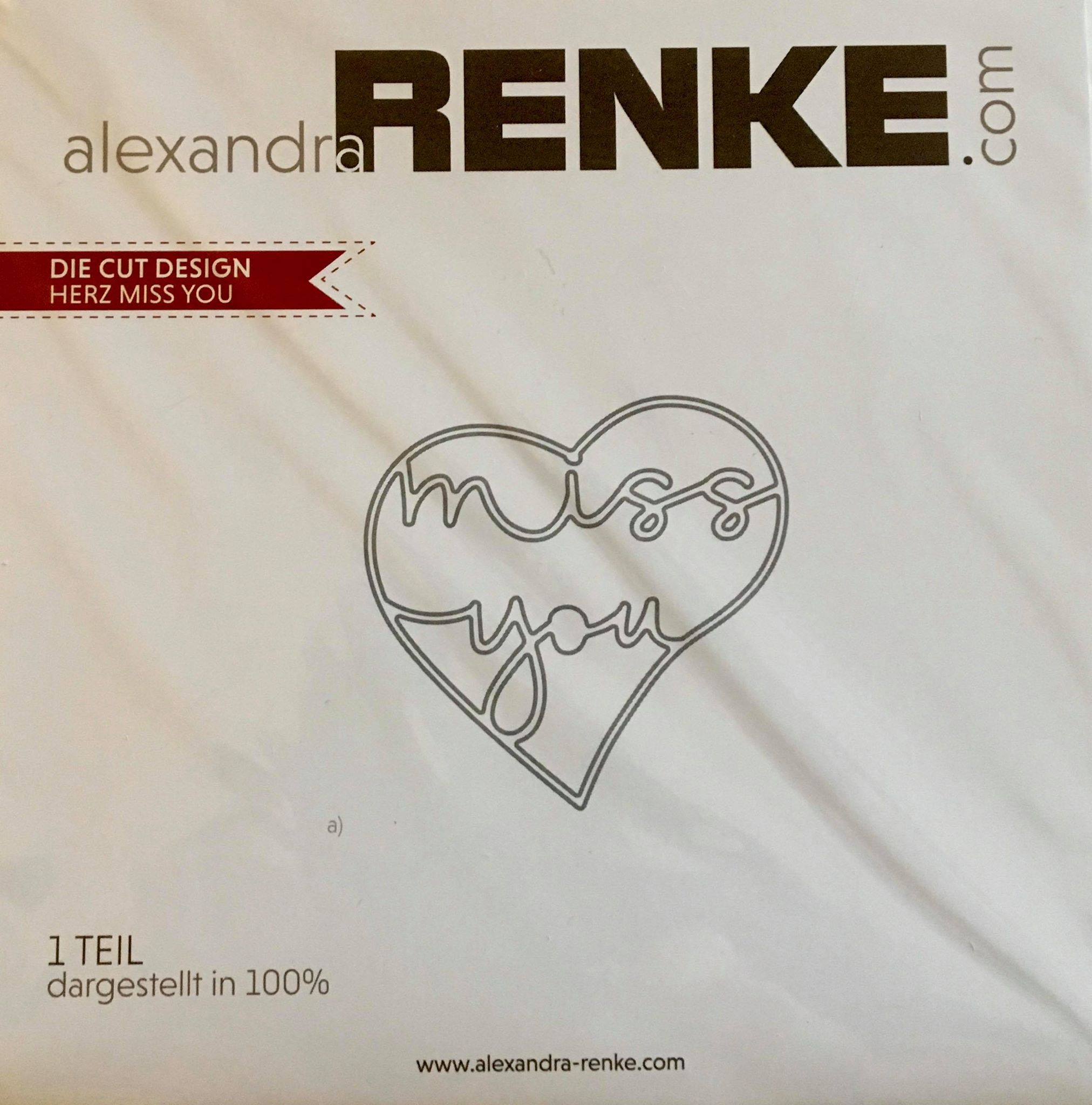 Alexandra Renke - Heart Miss You Die