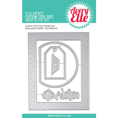 Avery Elle - Dotted Frame Die