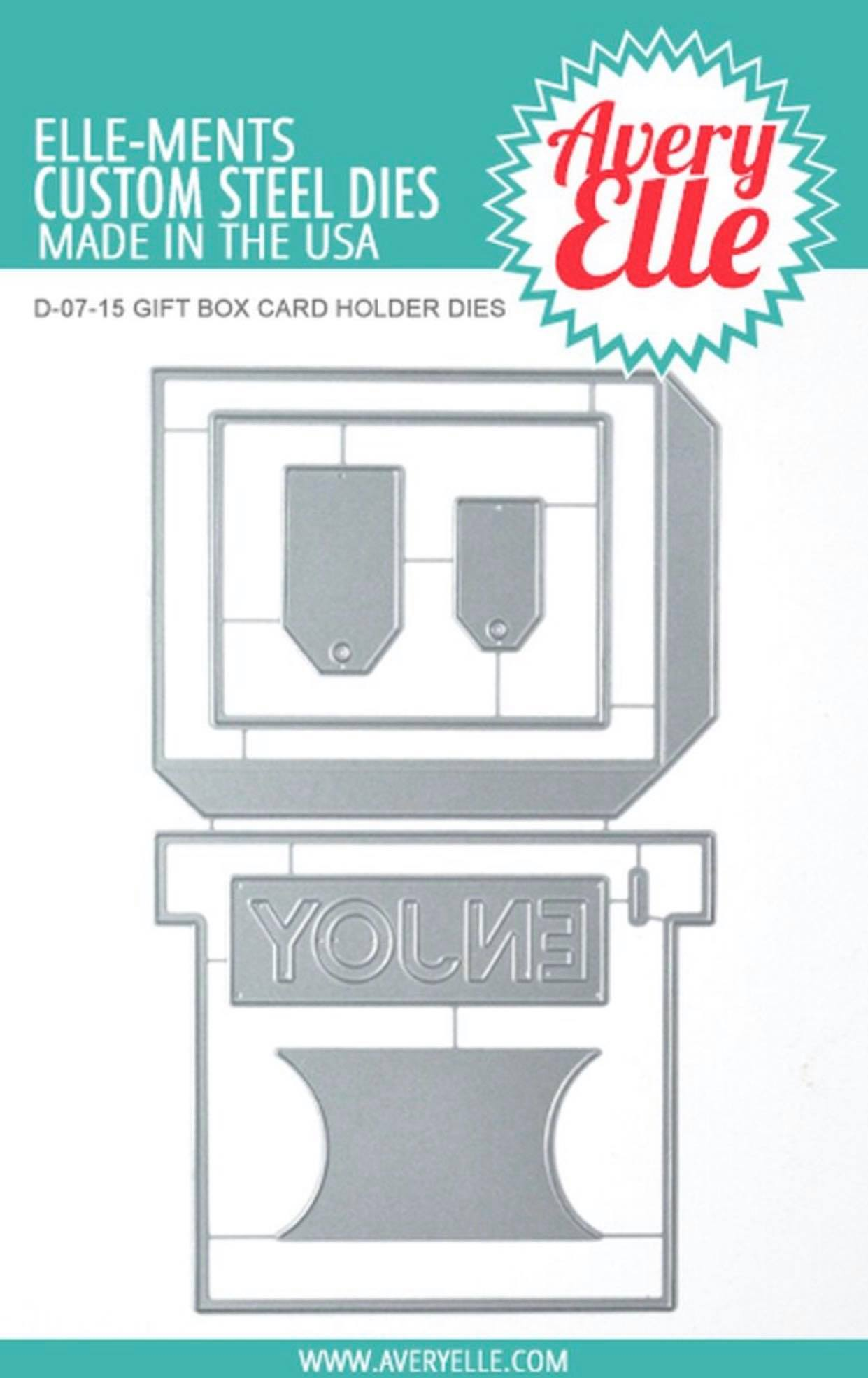 Avery Elle - Gift  Card Holder Die