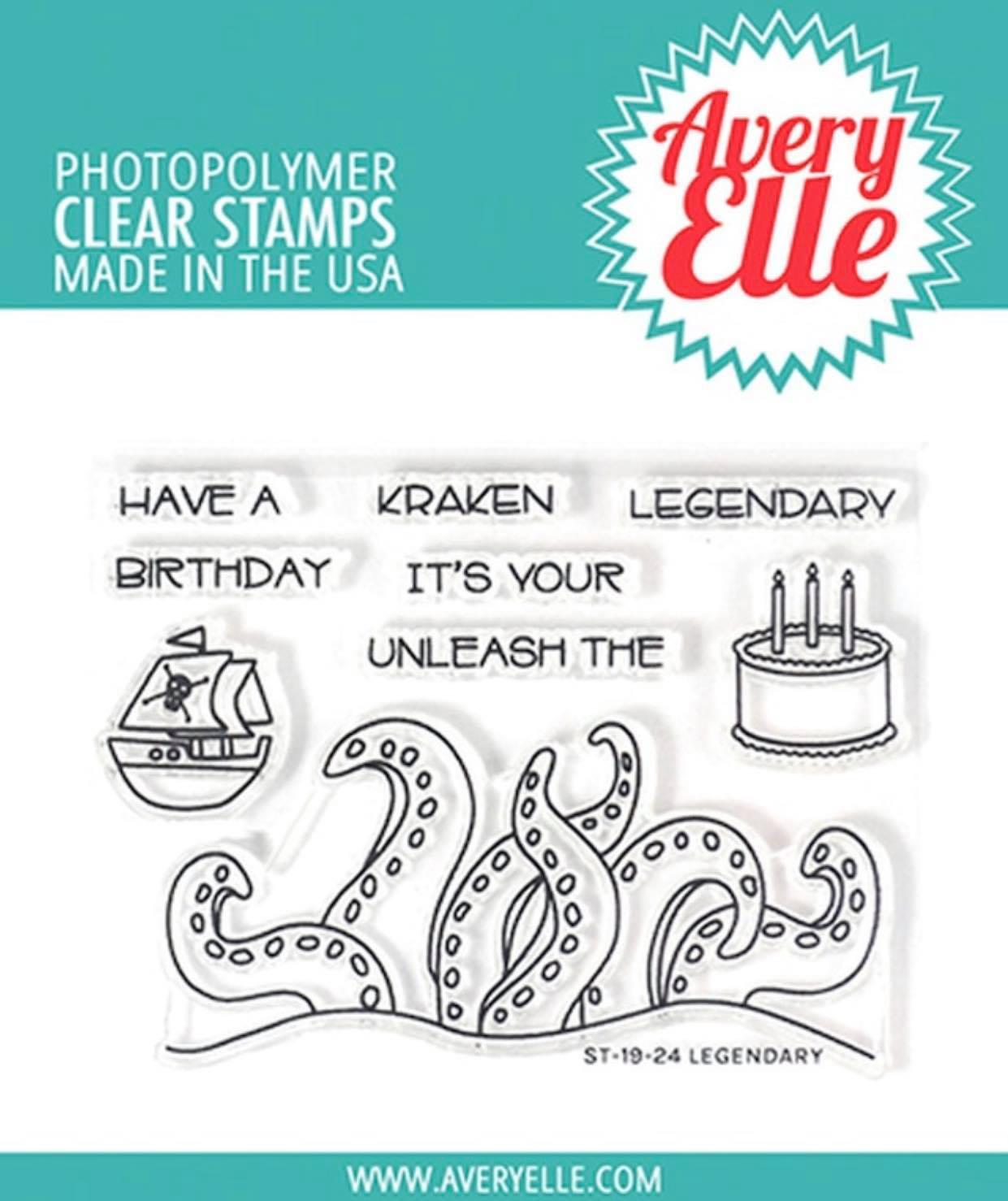 Avery Elle - Legendary Stamp Set
