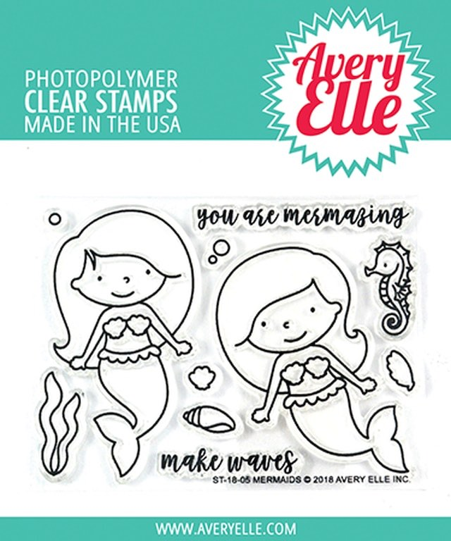 Avery Elle - Mermaids Stamp Set