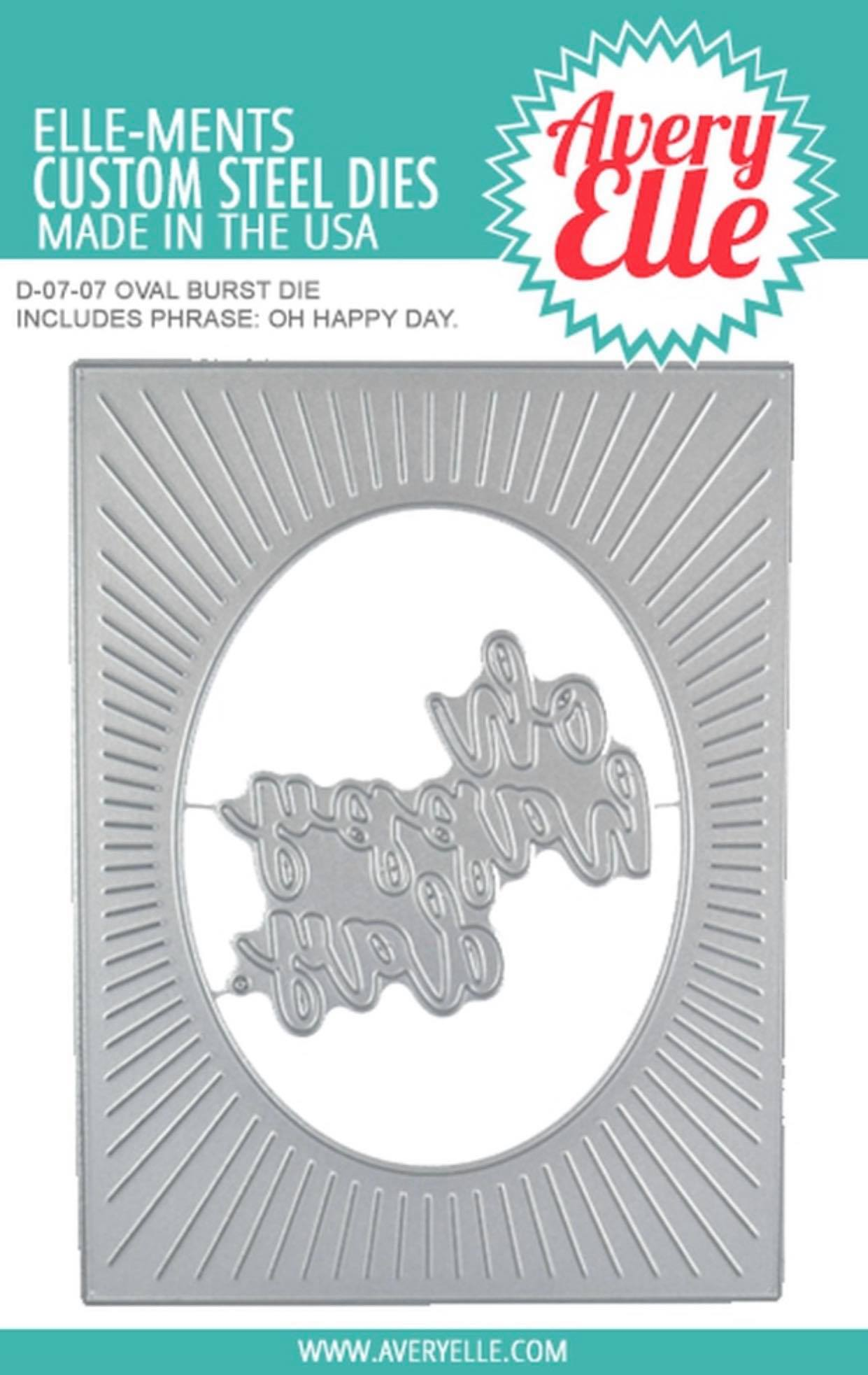 Avery Elle - Oval Burst Die