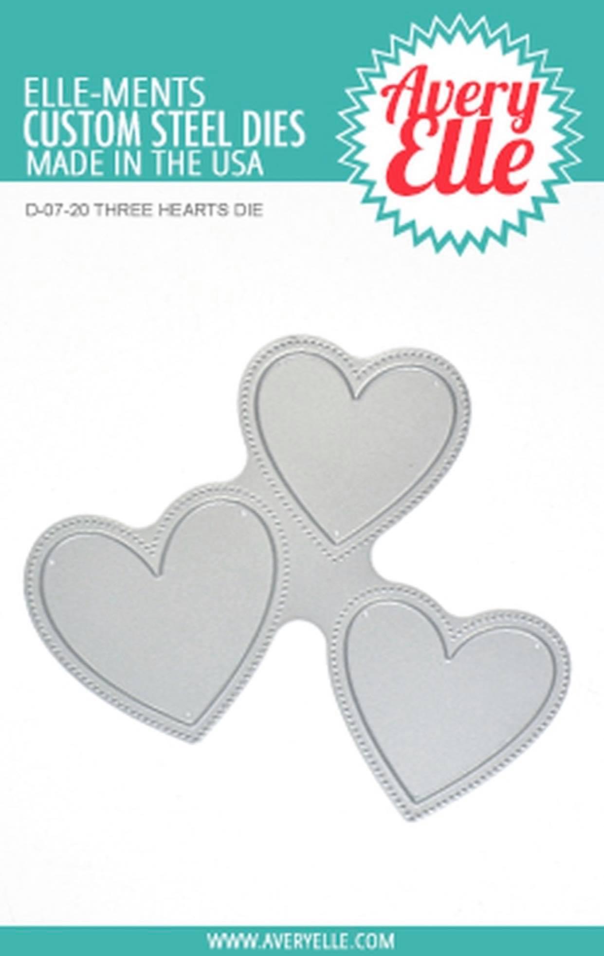 Avery Elle - Three Hearts Die