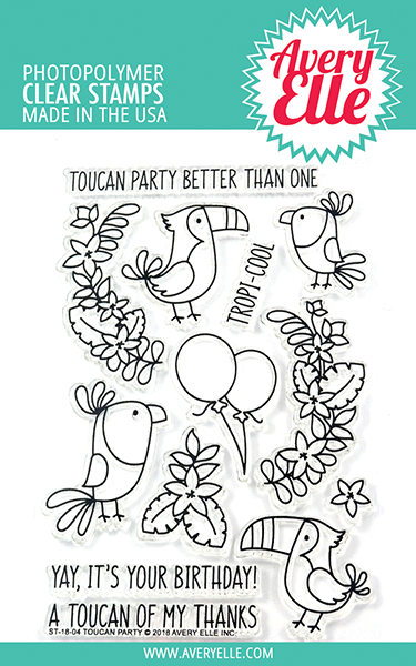 Avery Elle - Toucan Party Stamp Set