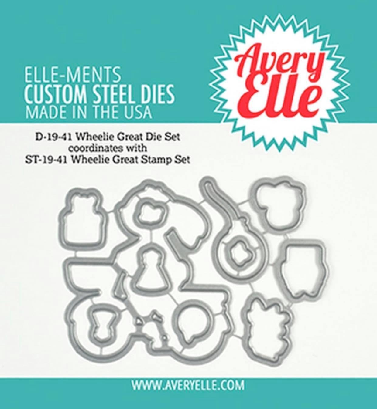 Avery Elle - Wheelie Great Die