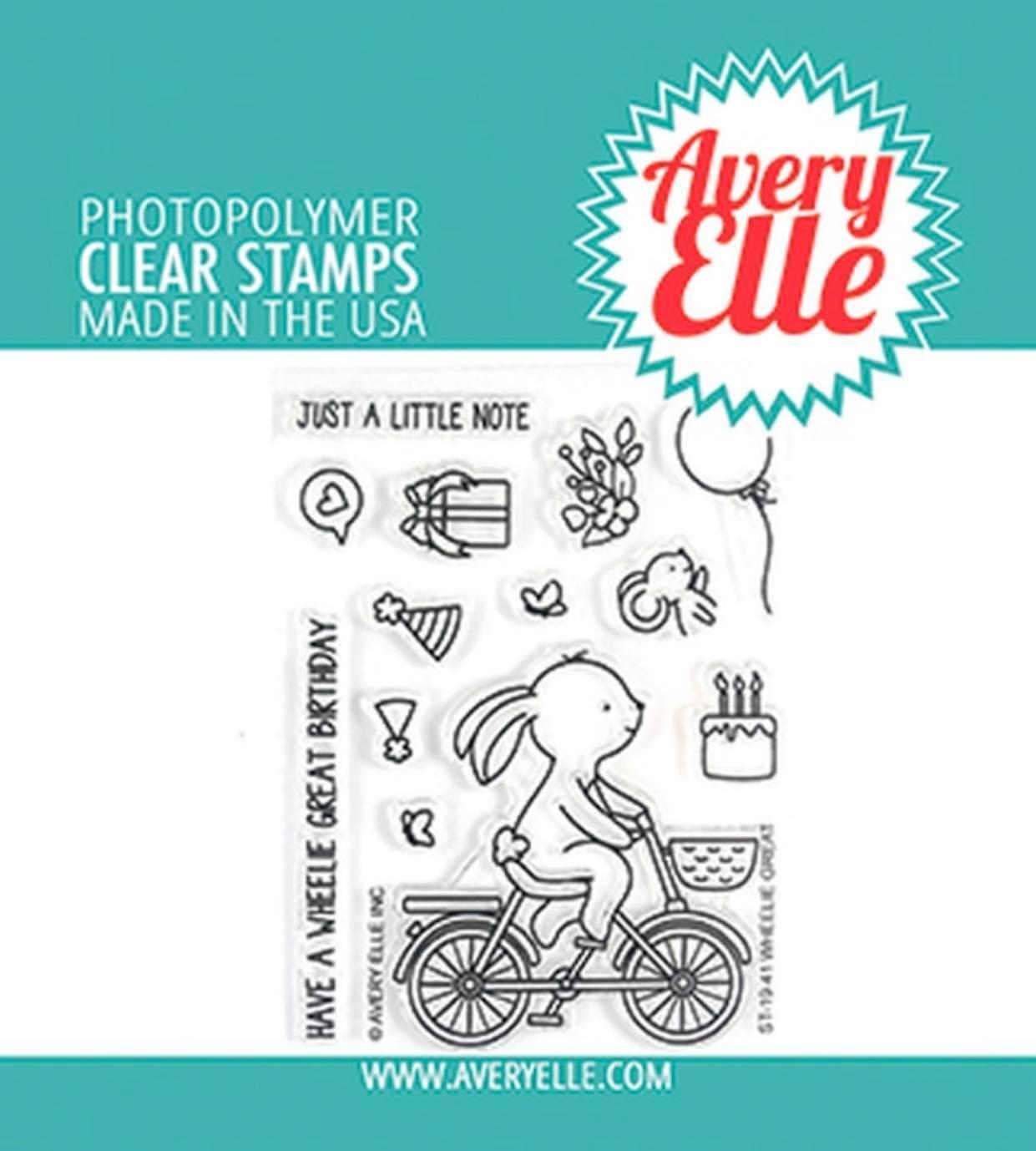 Avery Elle - Wheelie Great Stamp Set