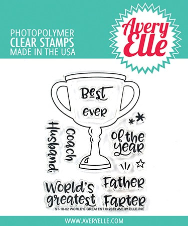 Avery Elle - World's Greatest Stamp Set