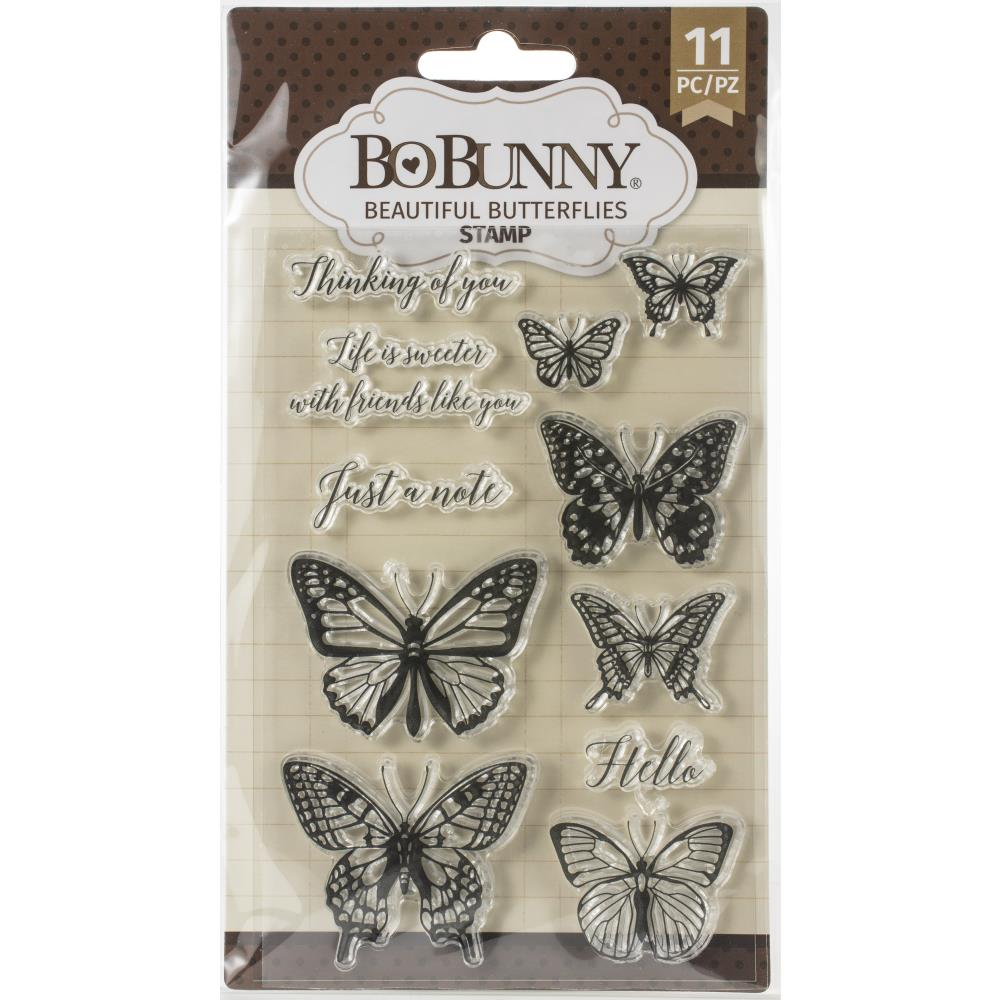 BoBunny Stamps - Beautiful Butterfly